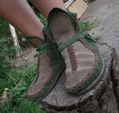 native moccasin boots via Etsy