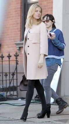 Embarazos fashion - Sienna Miller
