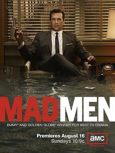 Mad Men: Conoce 30 diseños de posters para series de TV: http://blog.luismaram.com/2013/04/30/30-disenos-para-posters-de-series-de-tv/