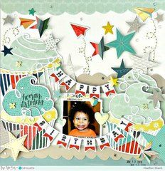 Find more birthday inspiration today at Scrapbook.com
