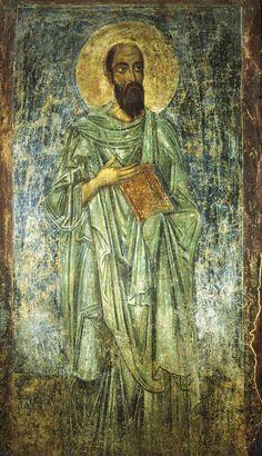 Апостол Павел. Фреска придела апостолов Петра и Павла.