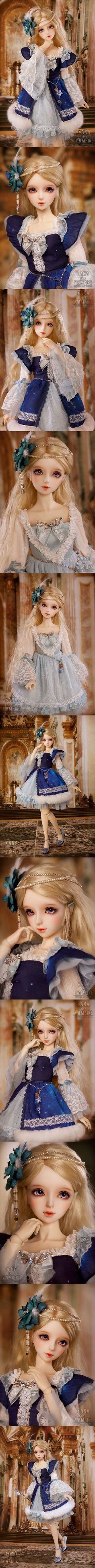 (AS Agency)BJD Limited Time Vampire kana Girl 58cm Ball-Jointed Doll_SD size doll_Angell Studio_DOLL_Ball Jointed Dolls (BJD) company-Legenddoll