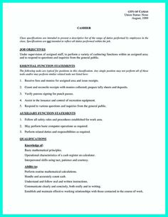 resume template cool Terrible Mistakes to Avoid When You Make Your Cashier Resume, Check more at http://snefci.org/terrible-mistakes-to-avoid-when-you-make-your-cashier-resume