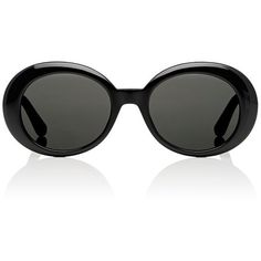 Saint Laurent Women's SL 98 California Sunglasses (2.965 NOK) ❤ liked on Polyvore featuring accessories, eyewear, sunglasses, glasses, black, yves saint laurent eyewear, lens glasses, etched glasses, logo sunglasses and yves saint laurent glasses