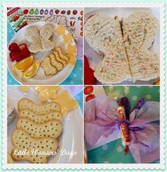 Butterfly Snack ideas   http://pinterest.com/kiboomu/