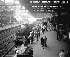 GWR King Richard 2 no. 6021 arriving at platform 7 with the to Paddington, Oct. Diesel Locomotive, Steam Locomotive, Old Train Station, Train Stations, Birmingham City Centre, Steam Railway, Birmingham England, British Rail, Old Trains