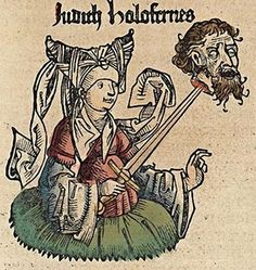 1493 Hartmann Schedel (1440-1514), Judith and Holofernes