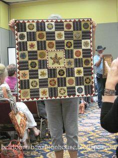 Wonderful Jo Morton quilt