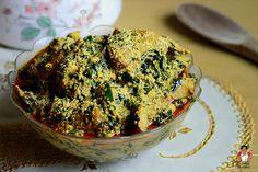 Dobbys Signature: Nigerian food blog | Nigerian food recipes | African food blog: Egusi soup with Uziza leaves (Ofe egusi na uziza)