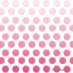 Fabric... Ombre Dots in Hot Pink by Riley Blake