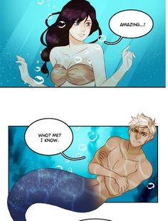 'Siren's Lament'- Into The Deep. Lyra & Ian, my OTP.