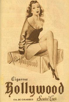 Iba Mendes: Anúncios antigos de cigarros: a participação da mulher