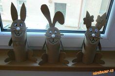 Velikonoční zajíčci s nadílkou