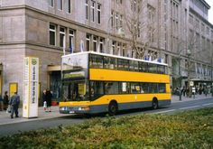 1999 Berlin - Berliner Doppeldeckerbus BVG 3061, ein MAN ND 202 am Wittenbergplatz / Kadewe (Sept. 1999) ☺