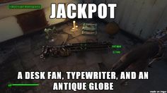 [Fallout 4] My loot priorities are so weird nowadays... - Imgur