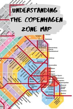 Learn how to read the Copenhagen zone map and unlock the key to public transportation in Copenhagen, Denmark. How and where to buy tickets, discounts and other great info. Copenhagen City, Copenhagen Travel, Copenhagen Denmark, Stockholm Sweden, Travel Info, Travel List, Budget Travel, Italy Travel, Travel Guide