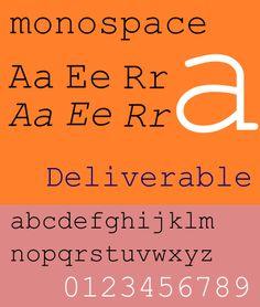 Monospace sample text