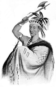 Mohawk Indians Chief King Hendrick