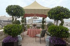 Roof Terrace by Frank Holbrook Design - traditional - patio - san francisco - Alex Amend Photography