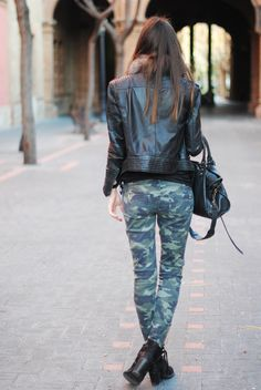 bcd90dcf4082 Camouflage, Zara, Berlin, Topshop, Jackets, Pants, Boots, Military  Camouflage