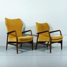 Located using retrostart.com > Lounge Chair by Aksel Bender Madsen for Bovenkamp