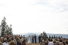 Northstar's Zephyr Lodge ceremony site #mountainwedding #northstar #northstarcalifornia