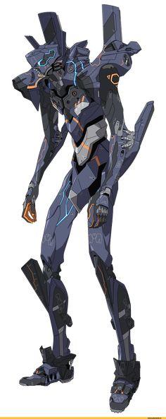 "SHUYA TAKAOKA from Tumbler. — sekigan: EVA ""Unit-Null"" (bad ass!) | Sci-fi |..."