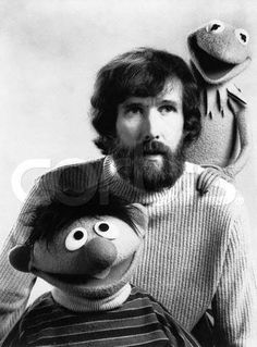 Jim Henson.....an absolute creative genius, with the gift of bringing puppets to life & installing imagination into magic.