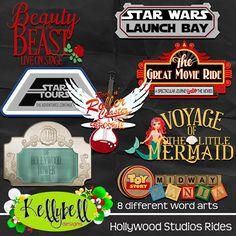 Hollywood Studios Rides