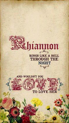 Rhiannon Fleetwood Mac