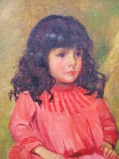 Joaquin Pardo de Tavera - Age Four- 1888 by Juan Luna
