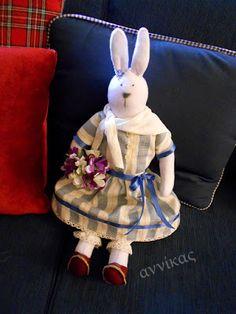 Handmade Bunny.                                 Η Χιονούλα ....αδερφή του Βησσαρίωνα