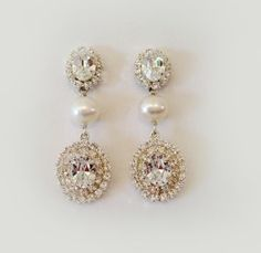 Erin Cole   Couture Bridal   Earrings