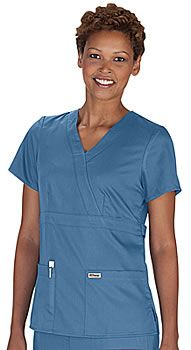 loving this new color of grey's anatomy scrubs- bluemoon