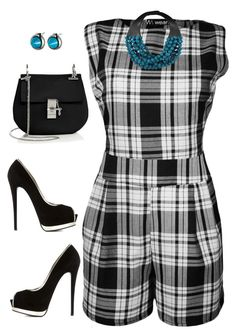 """Untitled #953"" by ruru833 ❤ liked on Polyvore featuring WearAll, Giuseppe Zanotti, Chloé, Fairchild Baldwin and Eddie Borgo"