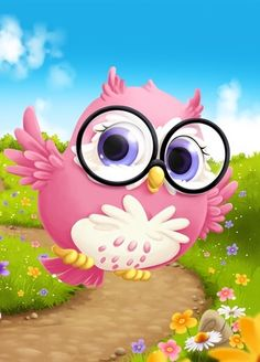 Owl Cute Owls Wallpaper, Cute Wallpaper Backgrounds, Cute Wallpapers, Cute Cartoon Girl, Cartoon Owls, Owl Quotes, Owl Artwork, Owl Birthday Parties, Owl Pictures