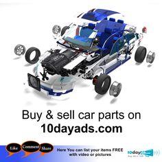 Buy Sell Car Parts On 10dayads BuyCarParts PostAdsForCarParts FreeOnlineCarParts CarParts