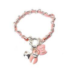 Keep the Faith Charm Bracelet