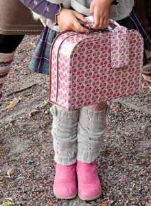 Neuleohje: Säärystimet lapselle