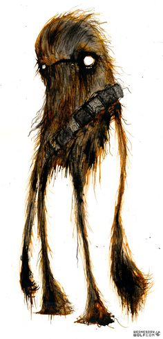 Chewie- A slave species, succumbing to lunacy.