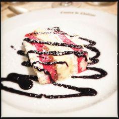 IL PIATTO E' SERVITO Meringata al lampone #dolcezze #meringa #fruttidibosco #chefgiovanni #invda #chezhcdc #food #instafood #foodporn #yummy #km0 #local