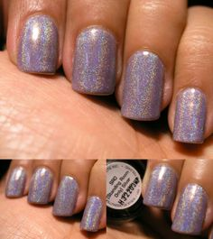 Cult Nails My Kind of Cool Aid with OPI SRO (Standing Room Only) SIlver