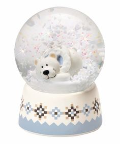 Take a look at this Polar Bear Snow Globe by NICI on #zulily today!