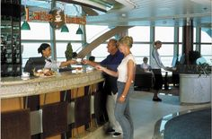 Lattetudes Bar on the Brilliance of the Seas