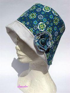 cappello estivi colorato donna con falda piccola