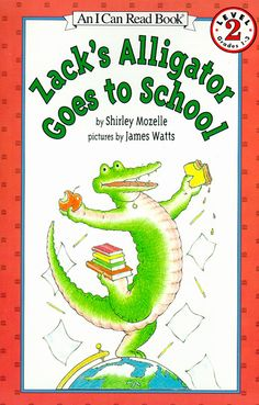 Zack's Alligator Goes to School.Repinned by SOS Inc. Resources.  Follow all our boards at http://pinterest.com/sostherapy  for therapy resources.