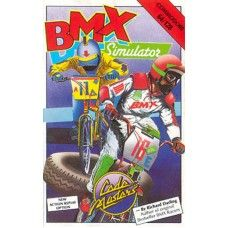 BMX Simulator for Commodore 64 from CodeMasters