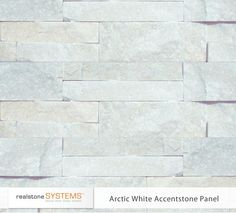 realstone systems arctic white stone