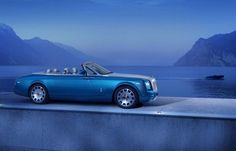 Rolls-Royce Phantom Drophead Coupe Waterspeed Collection Revealed- Must See!