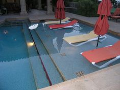 Pools On Pinterest Beach Entry Pool Pools And Small Yards